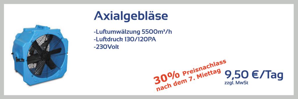 Axialgebläse